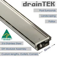 85mm outdoor tile insert pool drainage channel