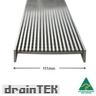 outdoor wedge wire grate insert only 111mm wide