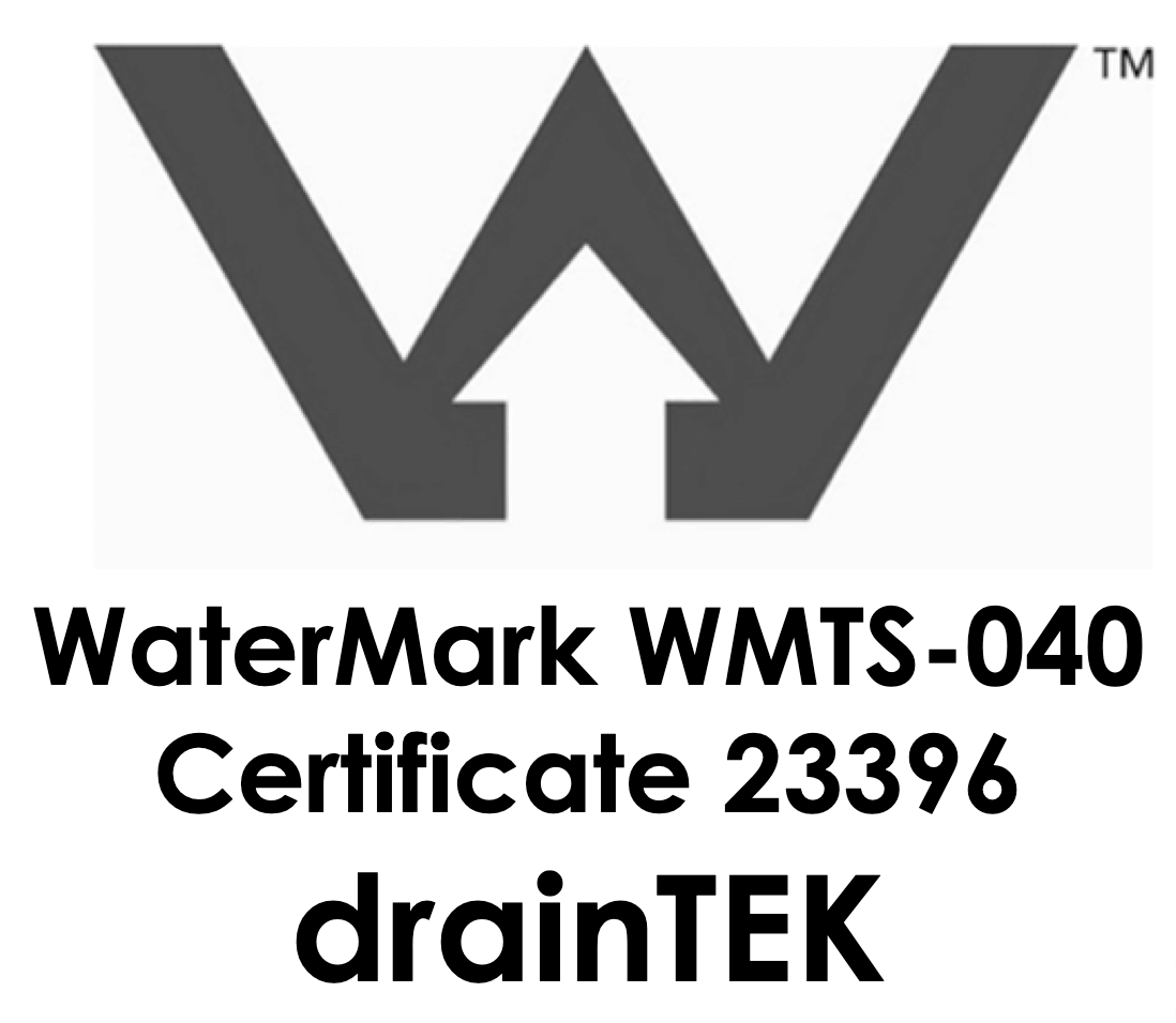 watermark licence draintek shower grates
