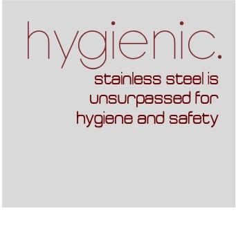 sanitary grade stainless steel kitchenware