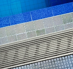 swimming pool drainage channel, pool channel drain, stainless steel channel grate
