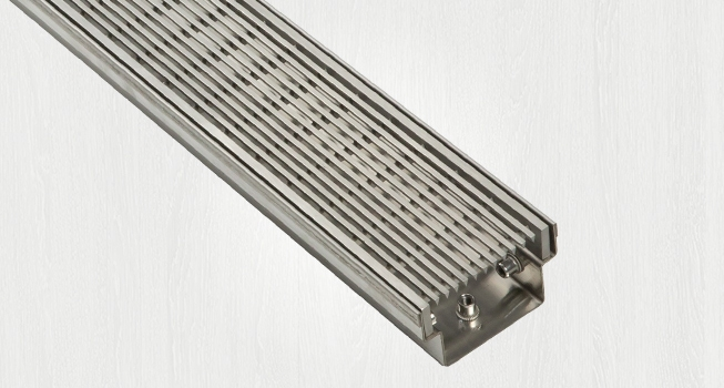 indoor grate, showers, drain, channel drain, shower floor, bathroom floor waste grate, floor drain, bathroom drain